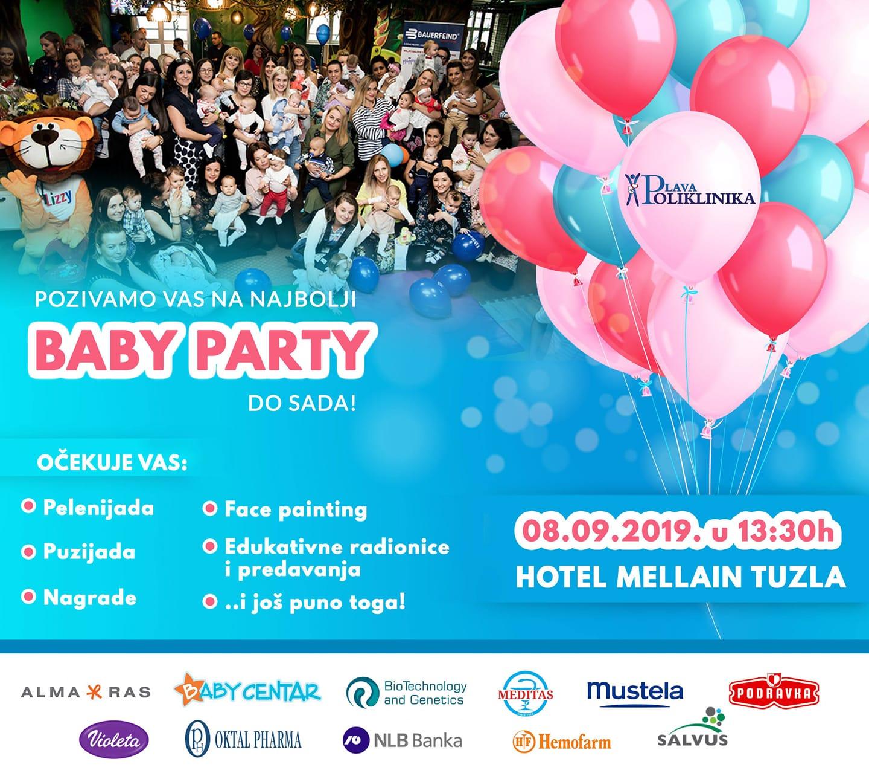 Baby party: Plava Poliklinika slavi treći rođendan porodilišta i priređuje veliku proslavu!