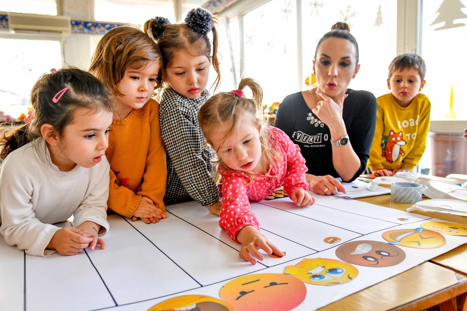 Šta će vaše dijete naučiti u vrtiću?