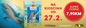 """Kolekcija knjiga Moja prva enciklopedija s Winniejem Poohom i prijateljima – treća knjiga """"Morska stvorenja"""""""