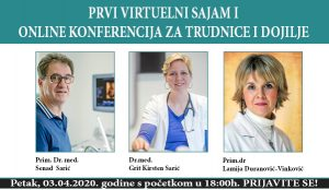 Prvi virtuelni sajam i online konferencija za trudnice i dojilje