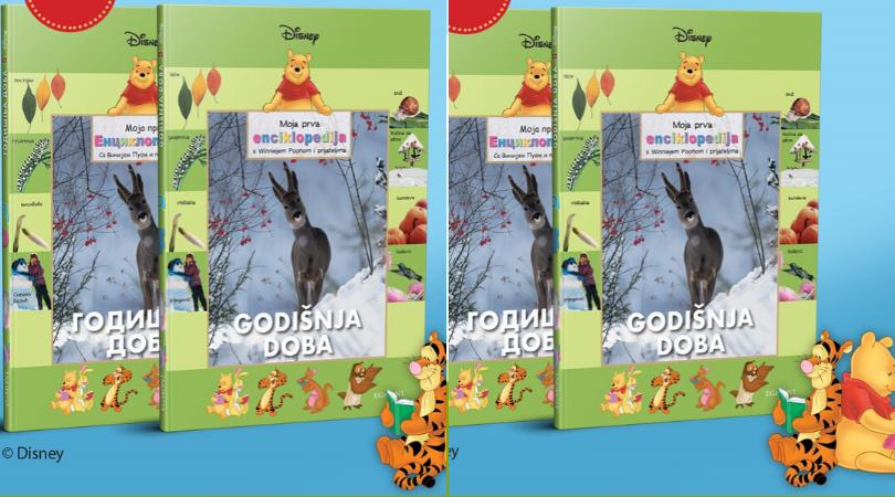 "Kolekcija knjiga Moja prva enciklopedija s Winniejem Poohom i prijateljima – dvanaesta knjiga ""Godišnja doba"""