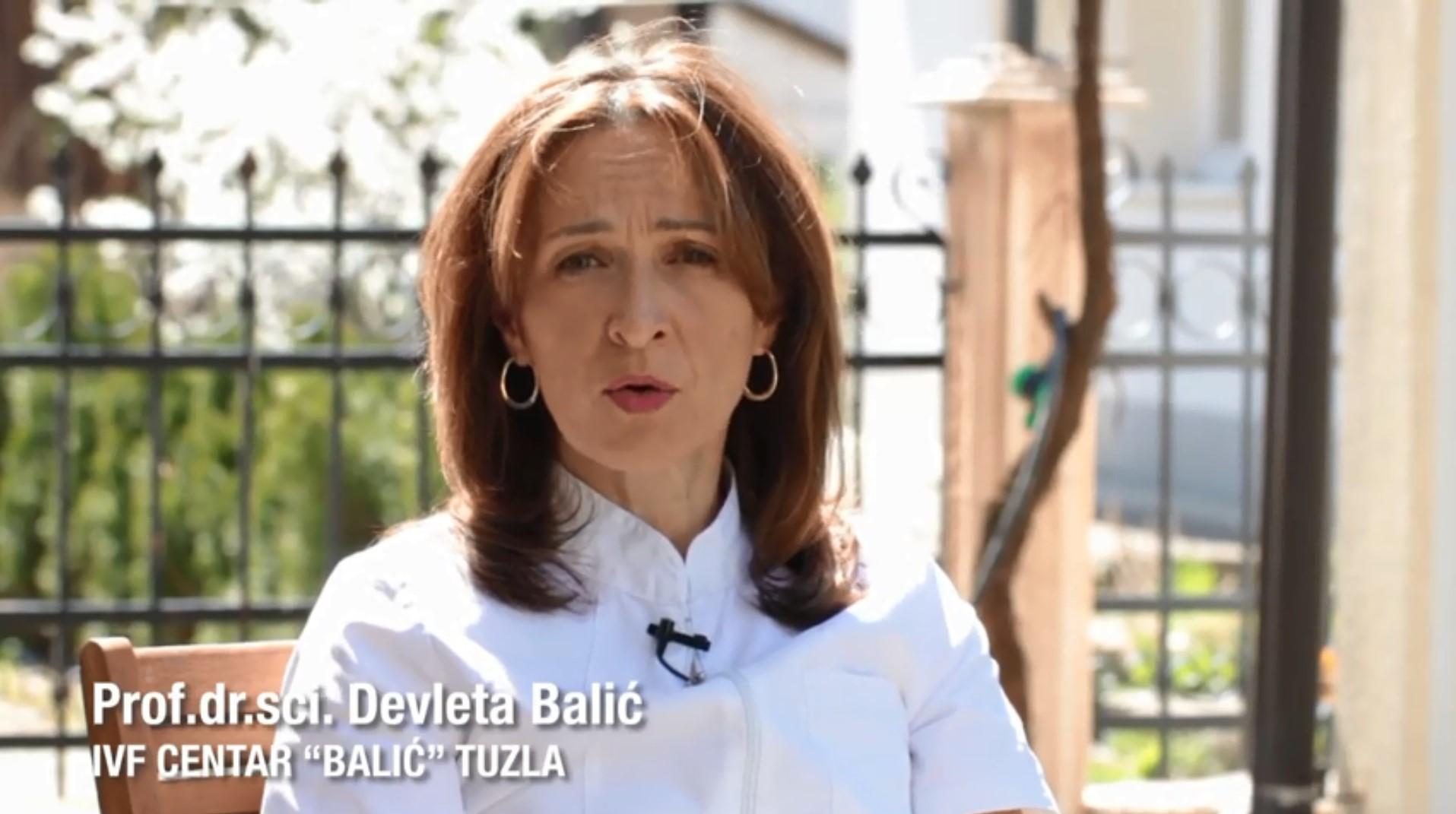 Liječenje neplodnosti tokom pandemije korona virusa – Prof. dr. sci Devleta Balić
