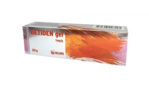 Betiden gel-jedan gram BETIDEN gela sadrži 1 mg dimetindenmaleta