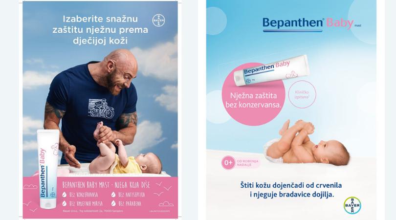 Zaštita kože Vaše bebe! Bepanthen Baby mast
