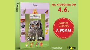 """Kolekcija knjiga Moja prva enciklopedija s Winniejem Poohom i prijateljima – sedamnaesta knjiga """"Dan i noć"""""""