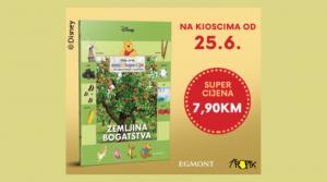 """Kolekcija knjiga Moja prva enciklopedija s Winniejem Poohom i prijateljima – dvadeseta knjiga """"Zemljina bogatstva"""""""