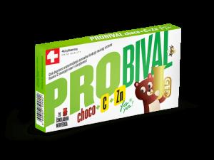 Probiotik za djecu – PROBIVAL CHOCO + C + Zn