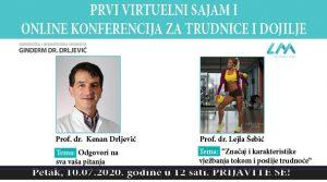 BESPLATNA konferencija za trudnice i dojilje