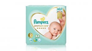 Pelene Pampers Premium Care Pampersove najbolje pelene sa zaštitom kože s 5 zvjezdica