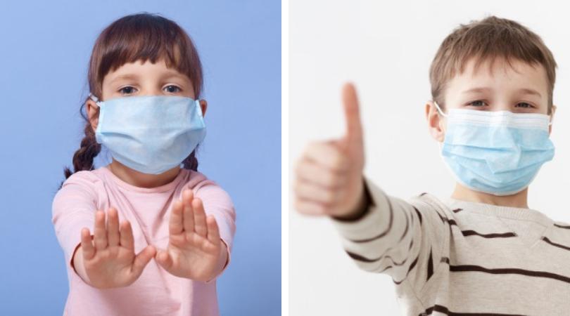 Kako navesti dijete da nosi masku u doba COVID-a