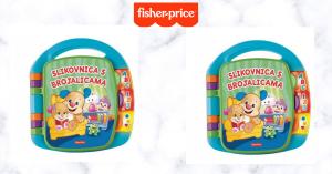 Otvorite djeci svijet zabave i učenja uz  Fisher-Price Knjigu za sveznalice!