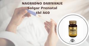 NAGRADNO DARIVANJE-SOLGAR Prenatal tbl A60