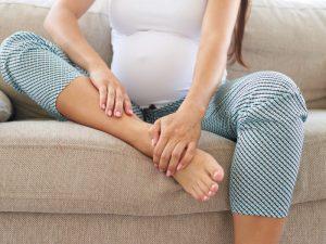 Oticanje nogu tokom trudnoće