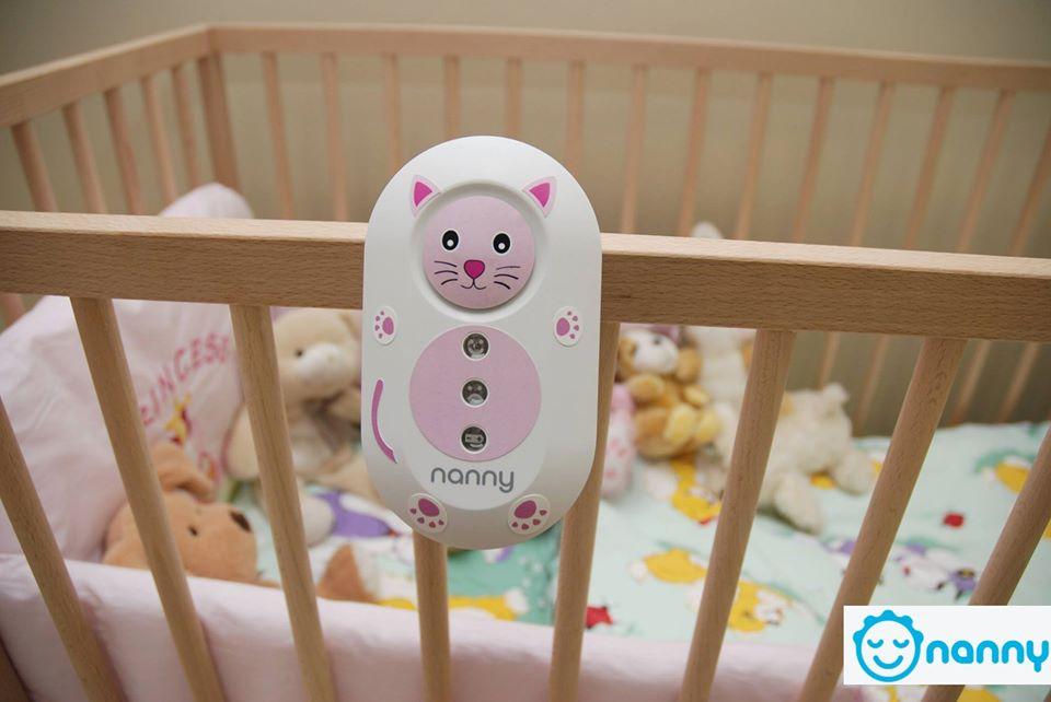 Nanny je bebin monitor disanja za siguran i bezbrižan san svake mame i njene bebe.