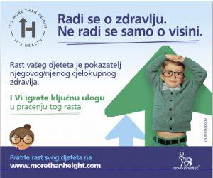 Mjerenjem visine mjerite djetetovo zdravlje