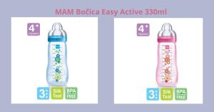 Idealna flašica za vaše mališane MAM Bočica Easy Active