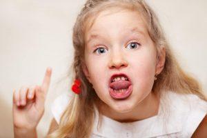 Kako spriječiti dijete da govori ružne riječi