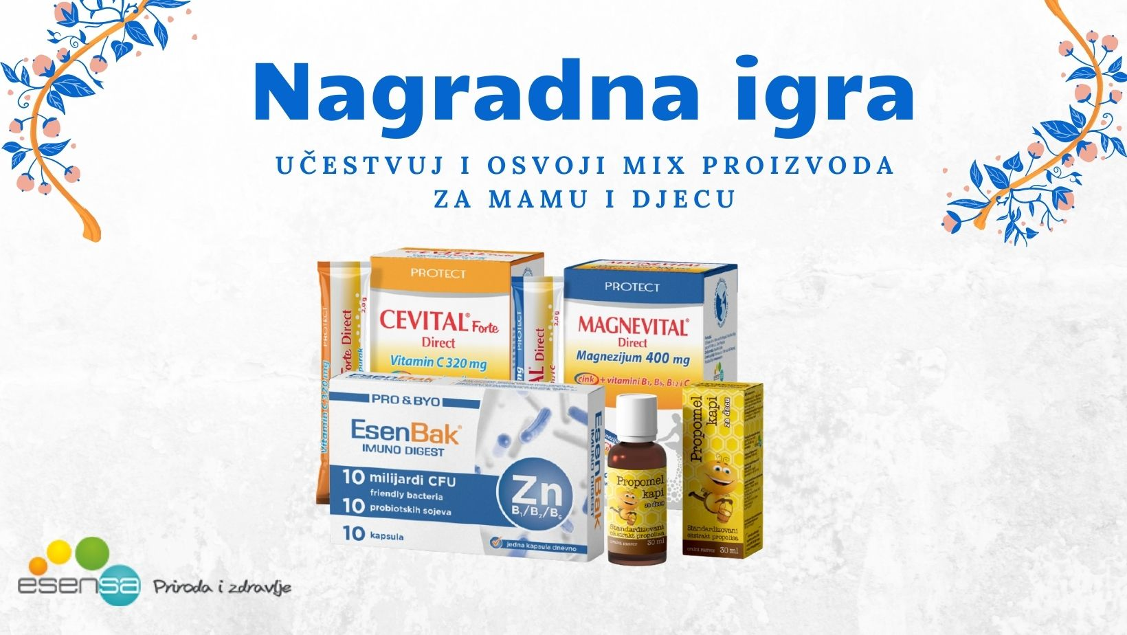 Nagradna igra-Esensa mix