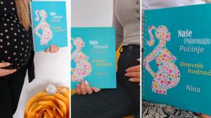 Personalizirani dnevnik – Savršen poklon za trudnicu i mamu