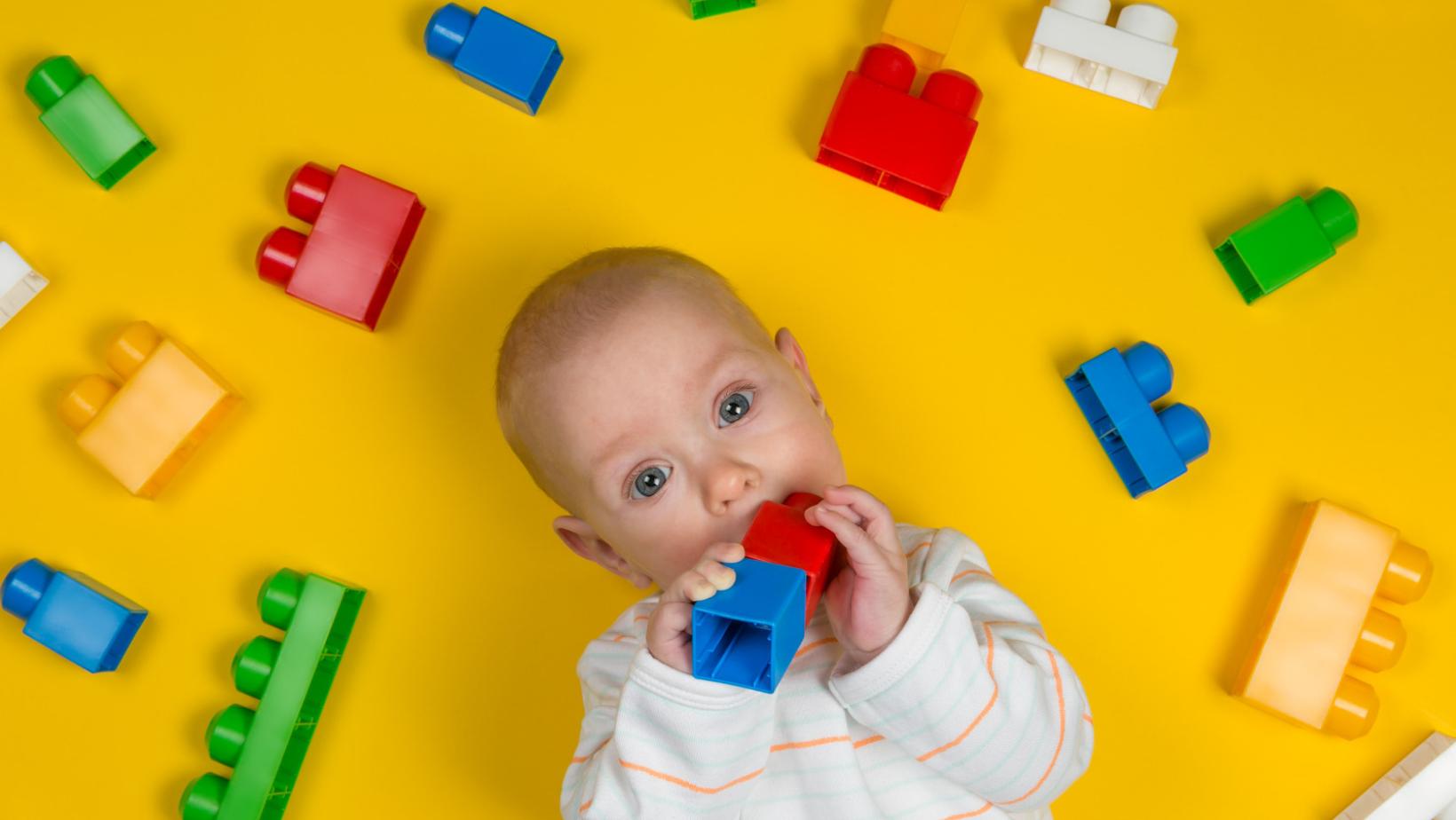 Kada bebe vide boje