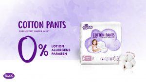 Violeta Double Care pelene gaćice (cotton pants)