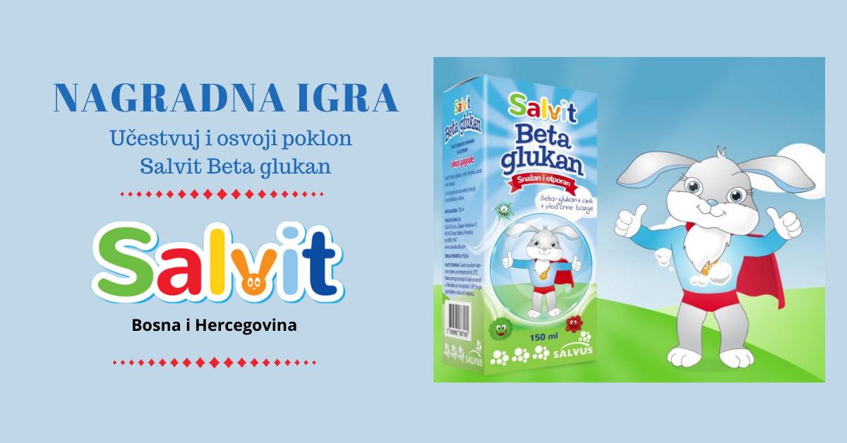 NAGRADNA IGRA-Salvit beta glukan