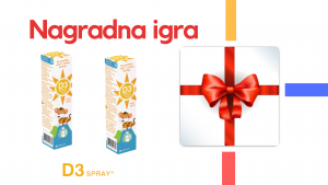 Dobar kao sunce – D3 SPRAY KID- najefikasniji oblik vitamina D3 – Pravila nagradne igre