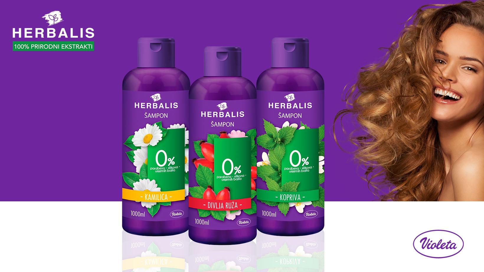 Herbalis šamponi
