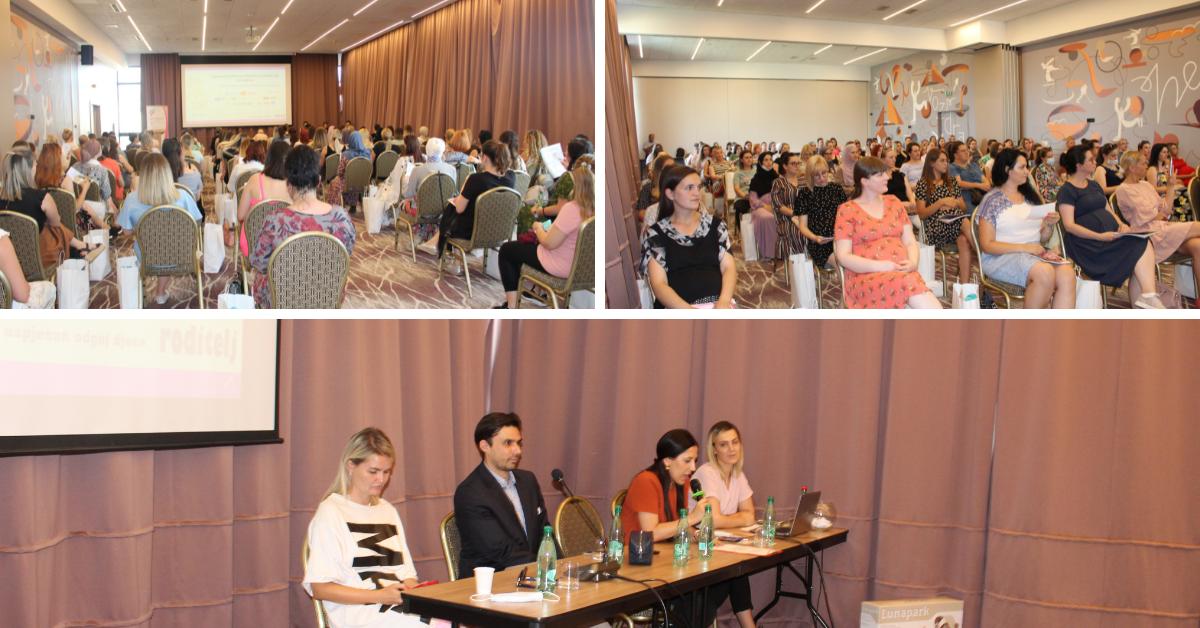 Nakon dužeg perioda održano uživo predavanje i druženje za trudnice u Sarajevu