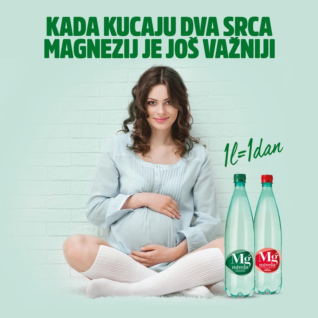 Magnezij je trudnici neophodan za vitalne funkcije njenog tijela, a budući da ima ulogu u procesu diobe ćelija i sintezi proteina, učestvuje i u rastu i razvoju  bebe