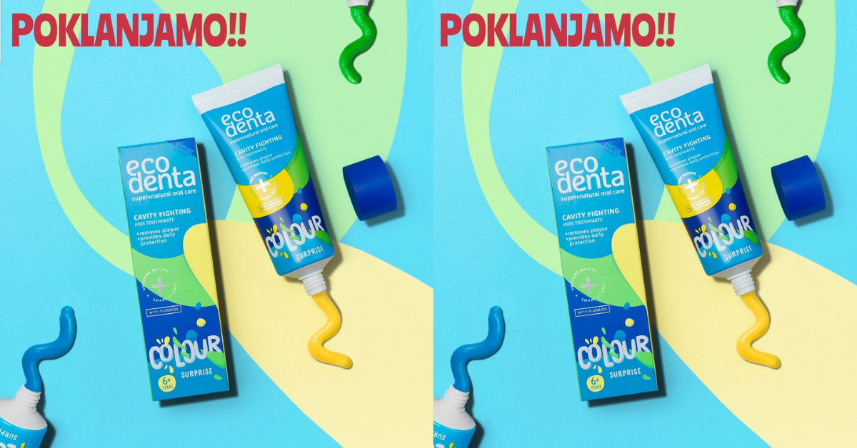 Nagradno darivanje: Eco denta nove paste za zube za mališane